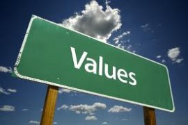 Values signpost